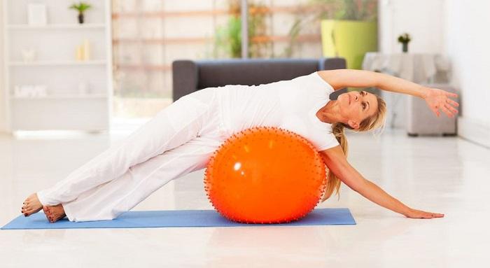 Best Fitness Ball Exercises for Women