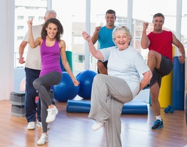Baby Boomer Fitness Class
