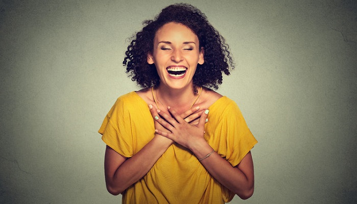 Woman's Laughter and your Health