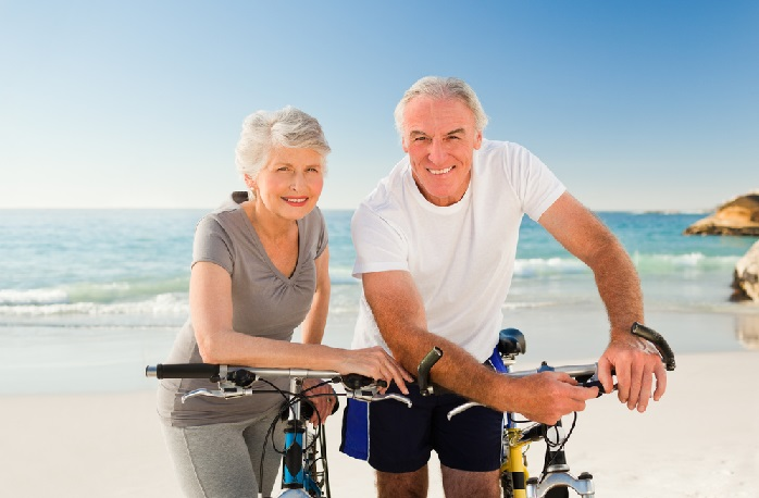 Active Retired Couple